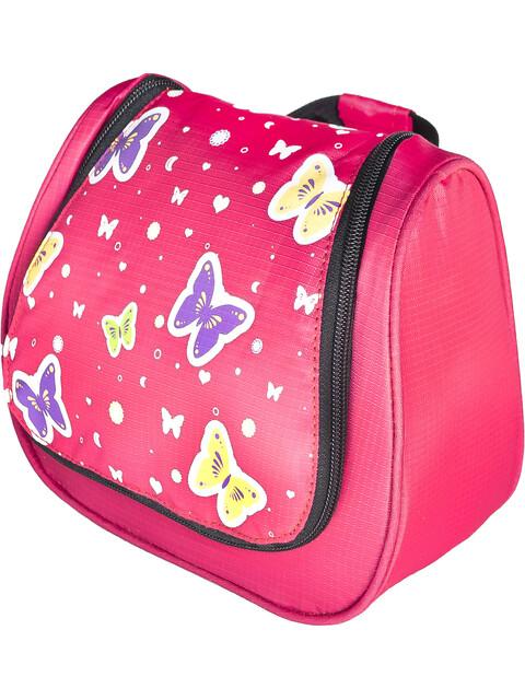 Grüezi-Bag Bttrfly Washbag Kids Pink
